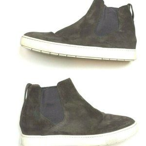 -FINAL SALE! Vince 9.5 Sneakers Boots Gray Suede